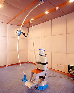 Photo of automated head-related transfer function (HRTF) measurement