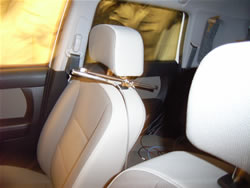 Photo of an automobile's interior