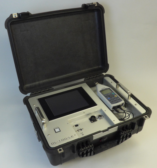 Photo of automatic measurement device for unwanted aircraft noise