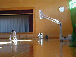 Reverberation time measurement of gymnasium