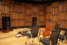 Sound Laboratory main listening room