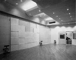 スタジオの内観写真