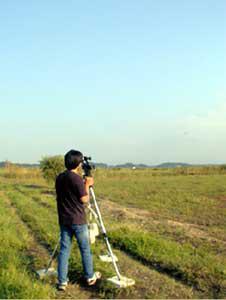 航跡データ検証測定写真
