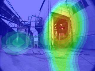 工場出入口開口の比較