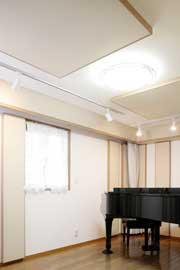 声楽練習室内 風景
