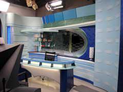 写真1 新スタジオセット