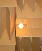 【写真-3】 天井楔と照明