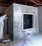 【写真-10】 第2小型残響室のコンクリート外観