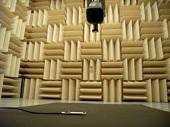 【写真-12】 pu-プローブを用いた吸音率測定