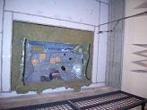 【写真-23】 残響室-無響室間開口のダッシュパネル
