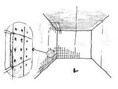 図2 グラスウール化粧板を使用した無響室