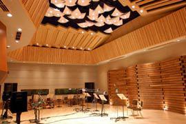 写真2 完成後の音楽録音スタジオ(POST RECORDING STUDIO)