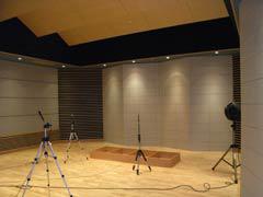 写真21 スタジオ(石を貼り反射・拡散体)