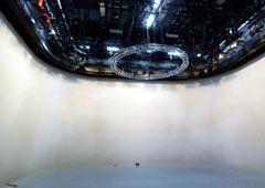 写真7 テレビスタジオホリゾント壁 完成時状況