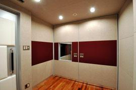 Studio-M Booth(扉閉鎖時)