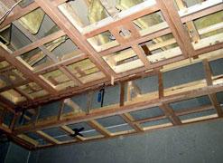 写真4 天井の仕上用下地組