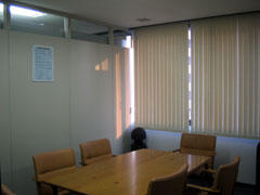 写真1 打合せ室(実験時空室)
