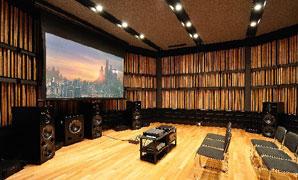 写真1 Acoustic Grove System(AGS) で構成された壁面