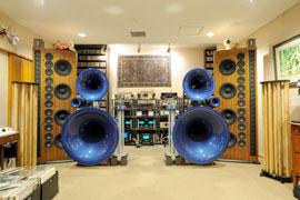 写真6 SYLVAN 導入後の後藤クリニック・オーディオルーム。オーディオ・ファイル憧れの音響空間