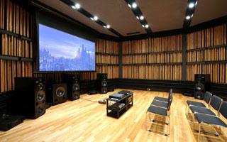 「Sound Lab」 試聴室
