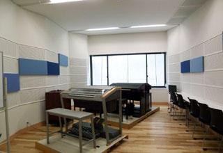 写真5 実際の竣工後のレッスン室