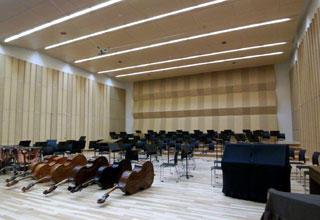 写真10 オーケストラスタジオ