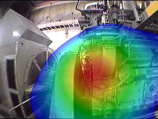 図4 自家発電施設建物内部での分析結果その2