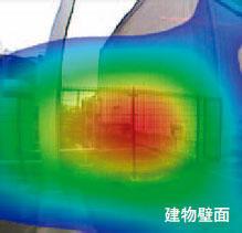 図7 敷地境界周辺分析結果その2・建物壁面