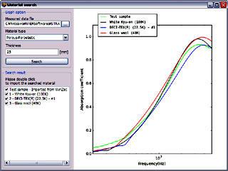 図1 マテリアルサーチ機能の一例
