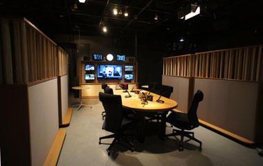 毎日放送BFSスタジオ ラジオ収録...