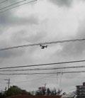 図8 連続静止画例(航空機)