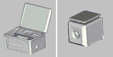 図3 プリモトーンおよびスピーカの3次元モデル
